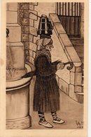 FOLKLORE 232 : Types Basques Vieille Femme Portant La Herrade : édit. L F N° 54 - Autres