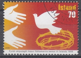 +Iceland 2006. Refugees. AFA 1102. Cancelled - Oblitérés