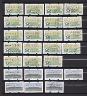 BRD - ATM -  1981/99 -  Sammlung - Gest. - BRD