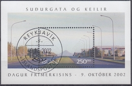 +Iceland 2002. Day Of The Stamp. Bloc. AFA 1004.  Cancelled - Blocs-feuillets