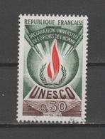 FRANCE / 1969-1971 / Y&T SERVICE N° 39 : UNESCO (Droits De L'homme 30 C) - Oblitéré Cachet Rond - Oblitérés