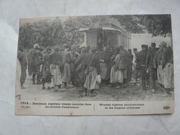 CPA  MILITARIA  1914 : Tirailleurs Algériens Blessés Installés Dans Les Autobus D'ambulance - Guerre 1914-18