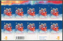 FINLAND 2001 Santa Claus Sheetlet MNH / **.  Michel 1567 BA - Blocks & Kleinbögen