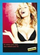 CPM.   Carte à Pub.   Wonderbra.   Soutiens-gorge.   Sexy.   Postcard. - Advertising