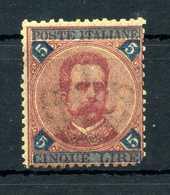 1891-96 REGNO N.64 * 5 Lire - Nuevos