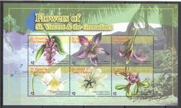G1560 2010 ST. VINCENT FLOWERS OF THE ST. VINCENT & THE GRENADINES FLORA 1KB MNH - Végétaux