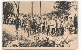 Militaires -  1914 / 1918 -  Soldats Allemands - Prisonniers  En Exode  - Carte Photo - CPA° - Guerre 1914-18