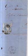Año 1870 Edifil 107 Envuelta Matasellos Manresa Barcelona - 1868-70 Gobierno Provisional