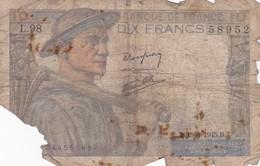 10 Francs 1945 - 10 F 1941-1949 ''Mineur''