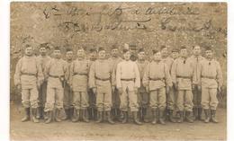 Militaires - Guerre 1914 / 1918 -  4  Eme RI , 8 Eme Batterie  - Carte Photo  - CPA° - Guerre 1914-18
