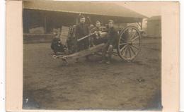 Militaires - Guerre 1914 / 1918 -  Artillerie  - Carte Photo  - CPA° - Guerre 1914-18