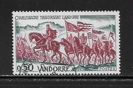 ANDORRE ( EUAND - 887 ) 1963  N° YVERT ET TELLIER  N° 167 - Usados
