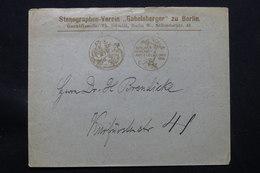 ALLEMAGNE - Enveloppe Commerciale De Berlin En 1896 , Voir Cachets - L 57376 - Germany