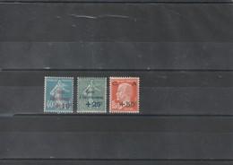 1927 Timbres De France Caisse D'amortissement N°246 à 248 Neuf** - Unused Stamps