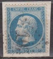 1862 - Empire Français - Napoléon III - FRANCE - Non Lauré - N° 22 - 1853-1860 Napoleon III