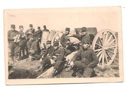 Militaires - Guerre 1914 / 1918 -  Artillerie Lourde  -  Carte Photo  - CPA° - Guerre 1914-18