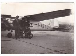 AEREO -  NON IDENTIFICATO - PLANE  - PONTECAGNANO - ANNO 1960 - Aviazione