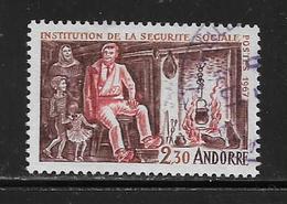 ANDORRE ( EUAND - 895 ) 1967  N° YVERT ET TELLIER  N° 183 - Usados