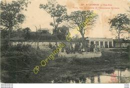 TONKIN .  DAP CAU . Puits . Mur En Poterie Et L'ambulance Militaire . - Viêt-Nam