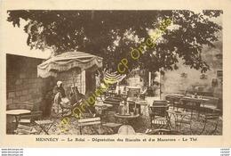 91.  MENNECY .  Le Relai . Dégustation Des Biscuits Et Des Macarons .  Le Thé . - Mennecy
