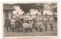 Militaires - Guerre 1914 / 1918 -  Artillerie - Canon -  Carte Photo  - CPA° - Guerre 1914-18