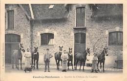 91-COUDRAY-MONCEAUX- ECURIES DU CHÂTEAU DE COUDRAY - Sonstige Gemeinden