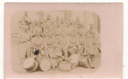 Militaires - Guerre 1914 / 1918 -  Fanfare - Groupe De Soldats  -  Carte Photo  - CPA° - Guerre 1914-18