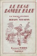 Partition Johann STRAUSS : Le Beau Danube Bleu - Partituras