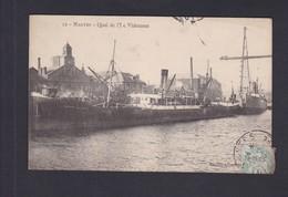 Vente Immediate Nantes Quai De L' Ile Videment  ( Bateau Commerce Edmond Gustave  Ref 41131) - Nantes