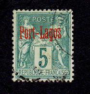 PORT LAGOS - YT N° 1 - Port Lagos (1893-1931)
