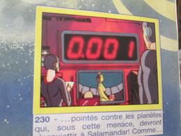 BACPLAST / COMPLETEZ VOTRE ALBUM !!  Image N°230 (récupération) PANINI De 1985 ALBUM COBRA , Très Bon état - Edition Française