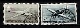 Belg. 1951 - OBP/COB LP / PA 28/29 Obl. - Gebr. - Used - - Poste Aérienne