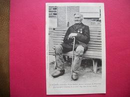 CARISEY  :  Le Vénérable Centenaire Victor BAILLOT, Dernier Survivant De Waterloo, Le 22 Avril 1897 Dans Sa 105e Année - Chablis