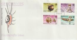 Seychelles FDC 1984 Artisanat 545-48 - Seychelles (1976-...)