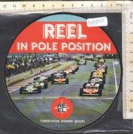 PO8981D# AUTOMOBILISMO FORMULA 1 - ADESIVO STICKER REEL IN POLE POSITION - Automobile - F1