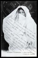 CPA ANCIENNE- MAROC PITTORESQUE- FEMME MAROCAINE EN TRES GROS PLAN - Marocco