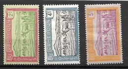 1925- France Cameroun / YT 107 108 109 / MNH* - Neufs