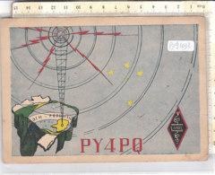 PO9103D# CARTE QSL RADIO PY4PQ - LABRE  VG BRASIL 1951 - Radio