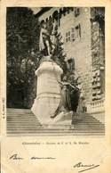 025 667- CPA - France (73) Savoie - Chambéry - Statues De J. Et X. De  Maistre - Chambery