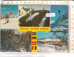 PO9237D# VICENZA - GALLIO - ASIAGO - OLIMPIADI INVERNALI - SCI TRAMPOLINO SLALOM  VG 1988 - Vicenza