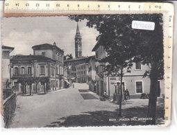 PO9261D# UDINE - BUIA - PIAZZA DEL MERCATO - STAZIONE DI SERVIZIO POMPE BENZINA  VG 1956 - Udine