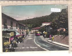 PO9310D# PISTOIA - CIREGLIO PISTOIESE - VIA MODENESE - PENSIONE RISTORANTE BAR - AUTOBUS - Acquerellata   VG 1966 - Pistoia