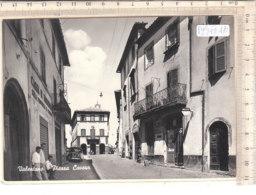 PO9324D# VITERBO - VALENTANO - PIAZZA CAVOUR - CASSA DI RISPARMIO - MACCHINE DA CUCIRE NECCHI - TABACCHI  No VG - Viterbo
