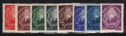 Roumanie 1948/50 Yvert 1042/48 Neufs** MNH (sauf 1047A * Trace Charnière) (AB75) - Neufs