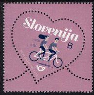 Slovenia - 2020 - Greetings - Love - Mint Stamp - Slovenia