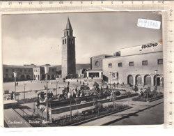 PO9378D# CAGLIARI - CARBONIA - PIAZZA ROMA - TEATRO  VG 1957 - Carbonia