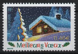 Timbre Neuf De 2002 N° 3534 Meilleurs Voeux Adhésif - France