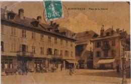 By - Cpa ALBERTVILLE - Place De La Liberté - Albertville