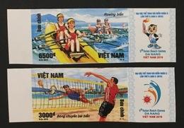Vietnam Viet Nam MNH Imperf Stamps 2016 : 5th Asean Beach Games In Da Nang / Volleyball (Ms1071) - Viêt-Nam