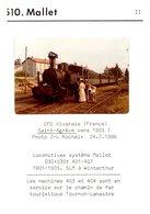 Thème Trains - Carte - 510 Mallet - Eisenbahnen